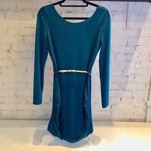 Armani Exchange Long-Sleeve Dress